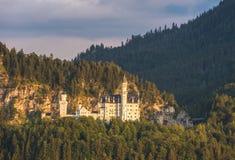 Castillo de Neuschwanstein, Baviera, Alemania Fotos de archivo libres de regalías