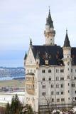 Castillo de Neuschwanstein en Alemania Imágenes de archivo libres de regalías