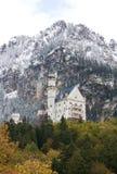 Castillo de Neuschwanstein en Alemania foto de archivo libre de regalías