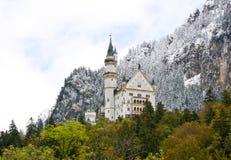 Castillo de Neuschwanstein en Alemania imagenes de archivo