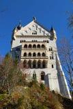 Castillo de Neuschwanstein en Alemania fotos de archivo