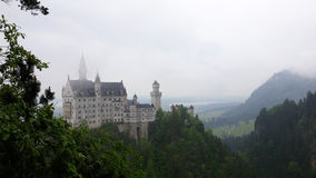 Castillo de Neuschwanstein en Baviera, Alemania Fotos de archivo