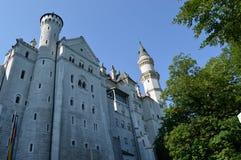 Castillo de Neuschwanstein en Baviera, Alemania Imagenes de archivo