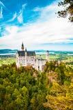 Castillo de Neuschwanstein Uno de la mayoría de los famos y del castillo hermoso en el mundo Imagenes de archivo