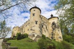 Castillo de Niedzica Foto de archivo
