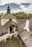 Castillo de Niedzica - Polonia. Fotos de archivo libres de regalías