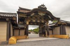 Castillo de Nijo, Kyoto imagenes de archivo