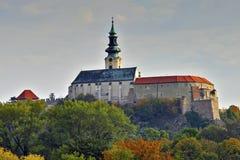 Castillo de Nitra Imagen de archivo libre de regalías
