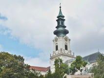 Castillo de Nitra Fotografía de archivo libre de regalías