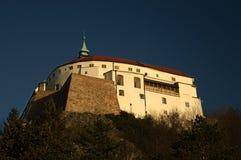 Castillo de Nitra fotografía de archivo