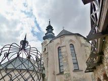 Castillo de Nitra - dentro del castillo Foto de archivo libre de regalías
