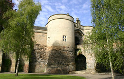 Castillo de Nottingham Imagen de archivo libre de regalías