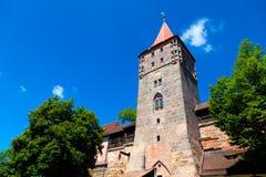 Castillo de Nuremberg Imágenes de archivo libres de regalías
