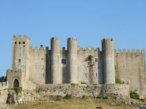 Castillo de Obidos Imagen de archivo