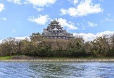 Castillo de Okayama Imagen de archivo libre de regalías