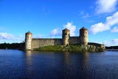 Castillo de Olavinlinna Imagen de archivo libre de regalías