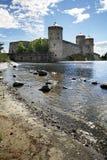 Castillo de Olavinlinna Fotos de archivo