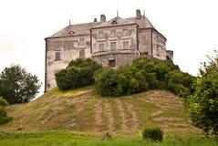 Castillo de Oleskiy Fotografía de archivo libre de regalías