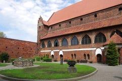 Castillo de Olsztyn imagenes de archivo