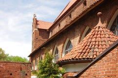 Castillo de Olsztyn imagen de archivo libre de regalías