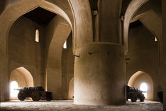 Castillo de Omán foto de archivo libre de regalías