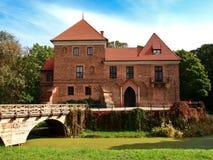 Castillo de Oporow, Polonia Foto de archivo