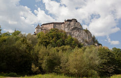 Castillo de Orava imagen de archivo libre de regalías