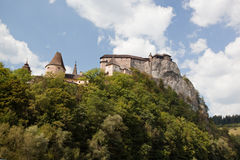 Castillo de Orava fotografía de archivo