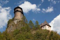 Castillo de Orava fotos de archivo libres de regalías