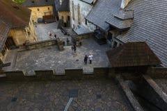 Castillo de Orava, Eslovaquia foto de archivo libre de regalías