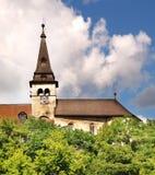 Castillo de Orava - torre de reloj imágenes de archivo libres de regalías