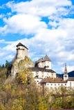 Castillo de Oravsky Foto de archivo libre de regalías