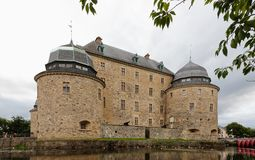 Castillo de Orebro foto de archivo