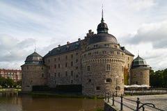 Castillo de Orebro Imagen de archivo libre de regalías