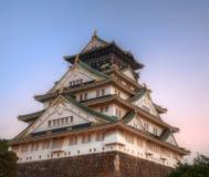 Castillo de Osaka Imágenes de archivo libres de regalías