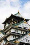 Castillo de Osaka imagenes de archivo