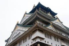 Castillo de Osaka Imagen de archivo libre de regalías
