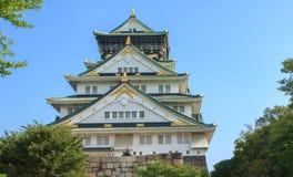 Castillo de Osaka Foto de archivo libre de regalías