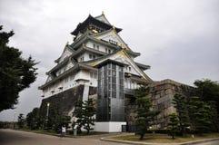 Castillo de Osaka en Japón Fotos de archivo libres de regalías