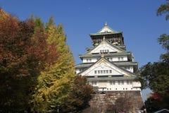 Castillo de Osaka en Japón Fotografía de archivo libre de regalías