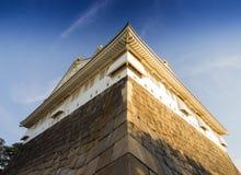 Castillo de Osaka en Kyoto, Japón Imagen de archivo libre de regalías
