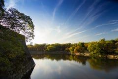 Castillo de Osaka en Kyoto, Japón Fotografía de archivo libre de regalías