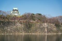 Castillo de Osaka en Matsumoto, Japón Fotos de archivo libres de regalías