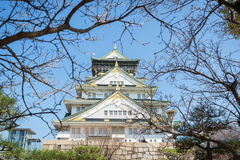 Castillo de Osaka en Matsumoto, Japón Foto de archivo
