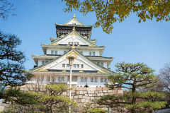 Castillo de Osaka en Matsumoto, Japón Fotografía de archivo libre de regalías