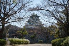 Castillo de Osaka en Matsumoto, Japón Imagen de archivo libre de regalías