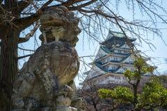 Castillo de Osaka en Matsumoto, Japón Foto de archivo libre de regalías