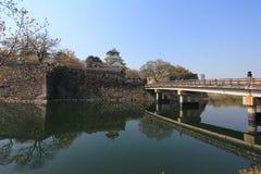 Castillo de Osaka, Japón Imagenes de archivo