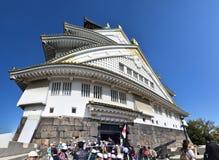 Castillo de Osaka, Osaka Imagen de archivo libre de regalías