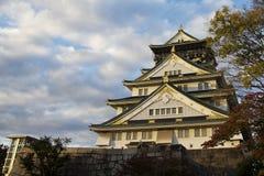 Castillo de Osaka, Osaka, Japón Foto de archivo libre de regalías